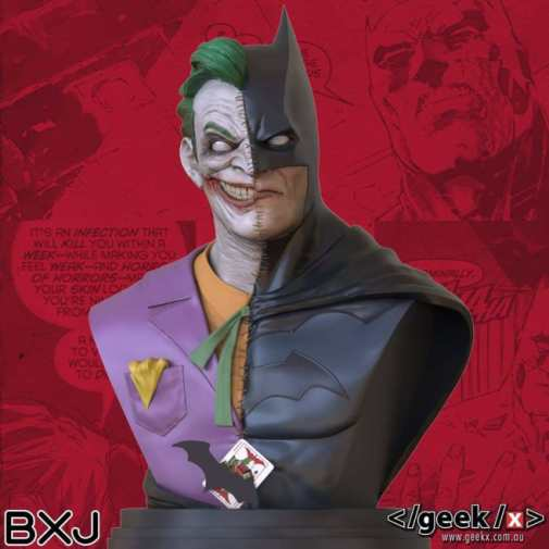 Buste Batman/Le Joker