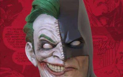 Un buste Batman/Le Joker par Geek X