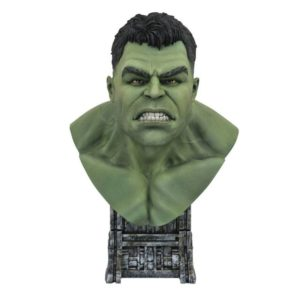 HULK BUSTE 1-2 THOR RAGNAROK MARVEL LEGENDS IN 3D DIAMOND SELECT TOYS 25 CM 699788836682 kingdom-figurine.fr