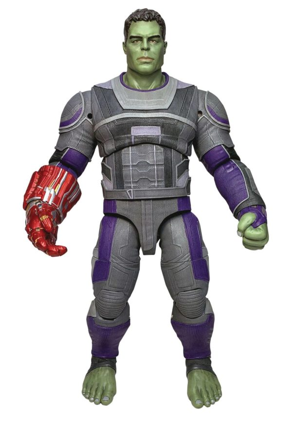 HULK HERO SUITE FIGURINE AVENGERS ENDGAME MARVEL SELECT DIAMOND SELECT TOYS 23 CM (1) 699788837450 kingdom-figurine.fr