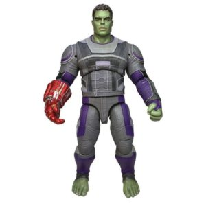 HULK HERO SUITE FIGURINE AVENGERS ENDGAME MARVEL SELECT DIAMOND SELECT TOYS 23 CM 699788837450 kingdom-figurine.fr