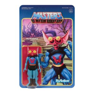 MANTENNA FIGURINE MASTERS OF THE UNIVERSE WAVE 5 RE-ACTION SUPER7 811169037543 kingdom-figurine.fr