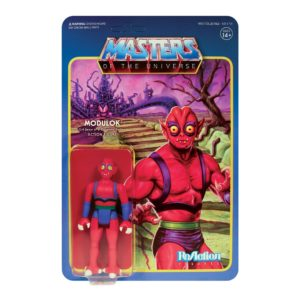 MODULOK FIGURINE MASTERS OF THE UNIVERSE WAVE 5 RE-ACTION SUPER7 811169037574 kingdom-figurine.fr