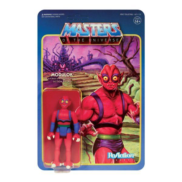 MODULOK FIGURINE MASTERS OF THE UNIVERSE WAVE 5 RE-ACTION SUPER7 811169037574 kingdom-figurine.fr