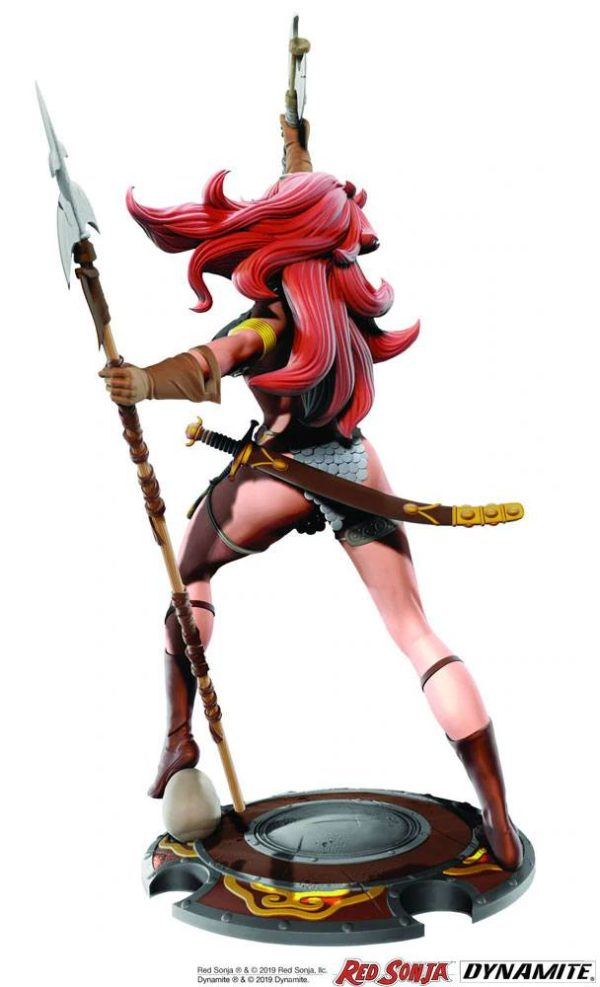 RED SONJA STATUETTE 45TH ANNIVERSARY BY FRANK THORNE DYNAMITE ENTERTAINMENT (2) 725130283924 kingdom-figurine.fr