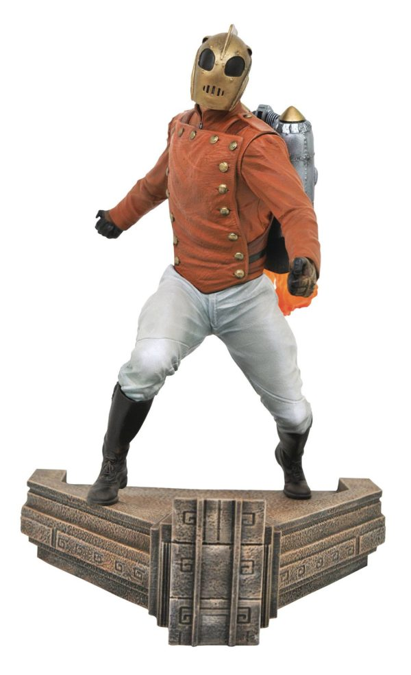 ROCKETEER STATUETTE PREMIER COLLECTION DIAMOND SELECT TOYS (1) 699788836033 kingdom-figurine.fr