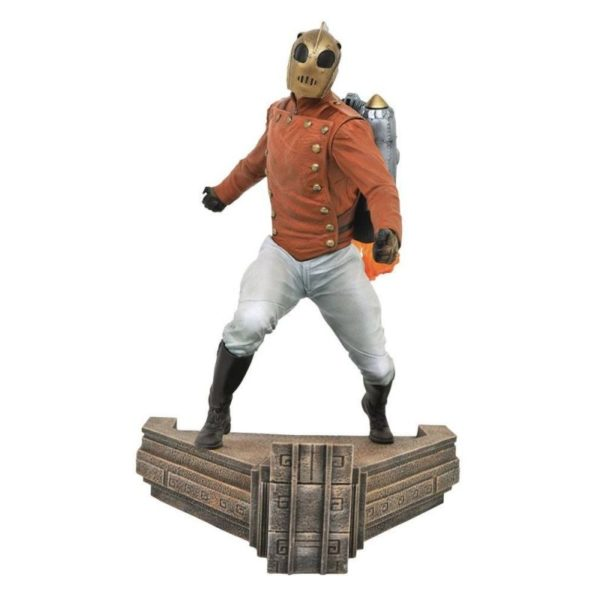 ROCKETEER STATUETTE PREMIER COLLECTION DIAMOND SELECT TOYS 699788836033 kingdom-figurine.fr