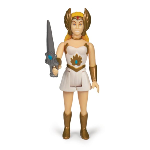 SHE-RA FIGURINE MASTERS OF THE UNIVERSE WAVE 5 RE-ACTION SUPER7 (2) 811169037529 kingdom-figurine.fr