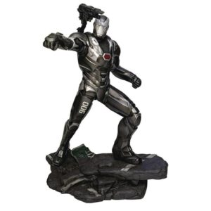 WAR MACHINE STATUETTE AVENGERS ENDGAME MARVEL MOVIE GALLERY DIAMOND SELECT TOYS 23 CM 699788833261 kingdom-figurine.fr