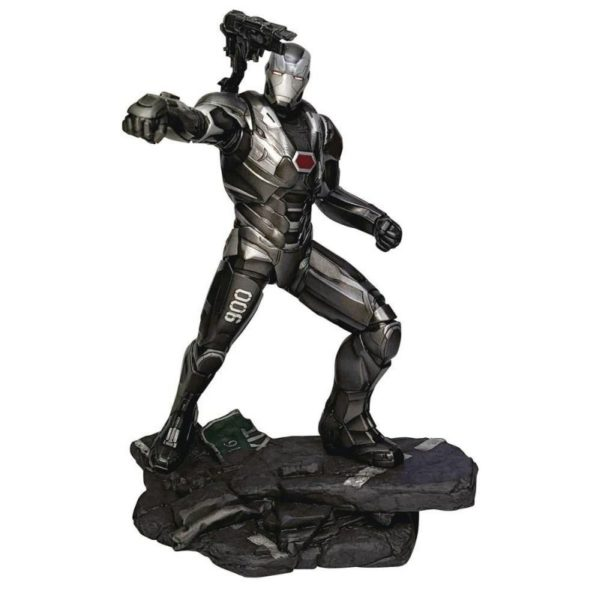 WAR MACHINE STATUETTE AVENGERS ENDGAME MARVEL MOVIE GALLERY DIAMOND SELECT TOYS 23 CM 699788833261 kingdom-figurine.fr