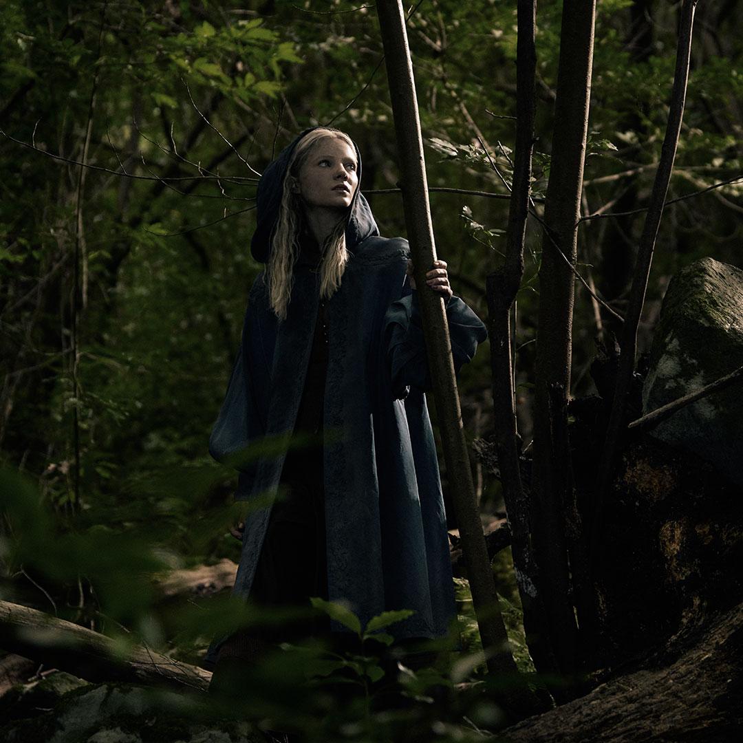 Ciri la magicienne dans The Witcher