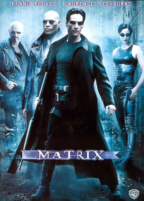 Affiche du film Matrix de 1999