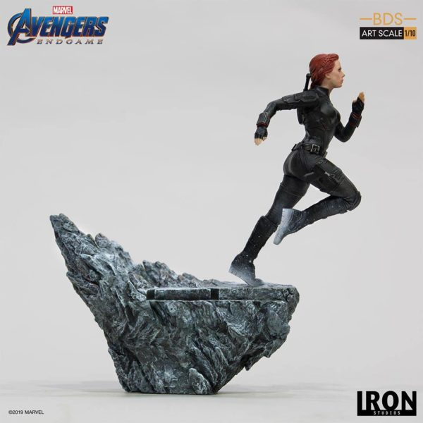 BLACK WIDOW STATUETTE 1-10 AVENGERS ENDGAME BDS ART SCALE IRON STUDIOS 21 CM (2) 606529899844 kingdom-figurine.fr