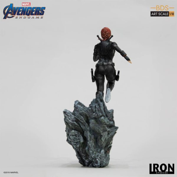 BLACK WIDOW STATUETTE 1-10 AVENGERS ENDGAME BDS ART SCALE IRON STUDIOS 21 CM (3) 606529899844 kingdom-figurine.fr