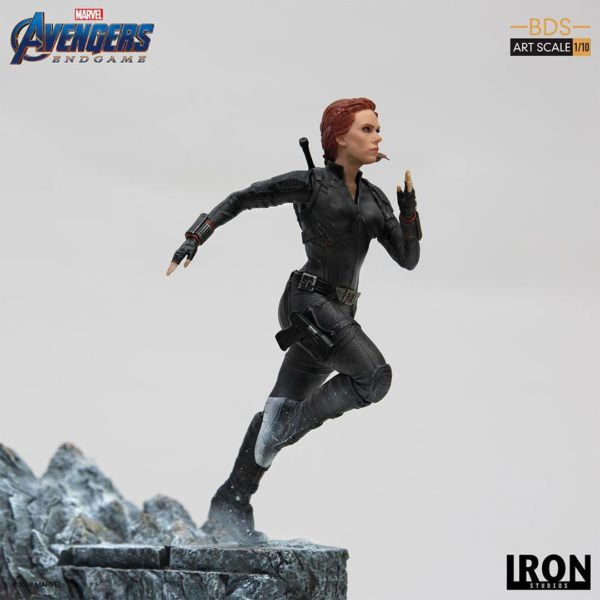 BLACK WIDOW STATUETTE 1-10 AVENGERS ENDGAME BDS ART SCALE IRON STUDIOS 21 CM (5) 606529899844 kingdom-figurine.fr