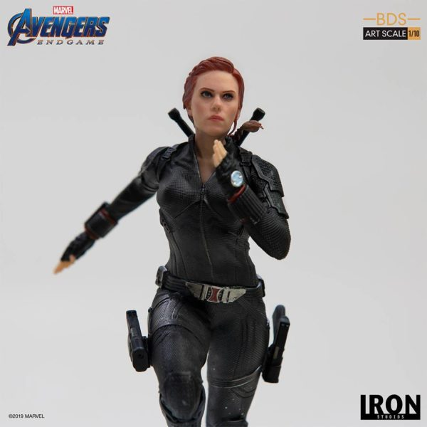 BLACK WIDOW STATUETTE 1-10 AVENGERS ENDGAME BDS ART SCALE IRON STUDIOS 21 CM (6) 606529899844 kingdom-figurine.fr