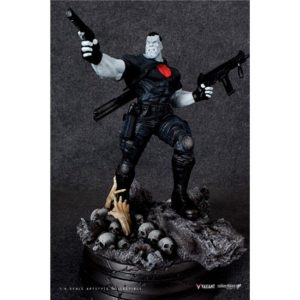 BLOODSHOT STATUETTE 1-6 ARTSTYLE VALIANT COMICS SILVER FOX COLLECTIBLES 40 CM (1bis) 747720188867 kingdom-figurine.fr