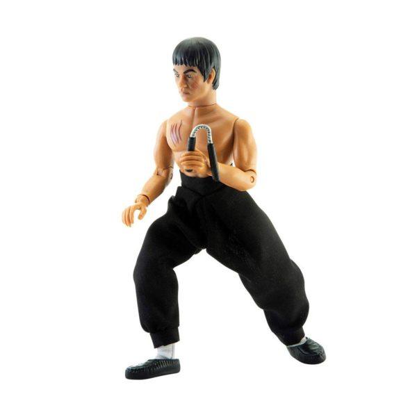 BRUCE LEE FIGURINE ORIGINAL BRUCE LEE MEGO 20 CM MEGO62811 (2) 850002478112 kingdom-figurine.fr