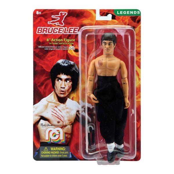 BRUCE LEE FIGURINE ORIGINAL BRUCE LEE MEGO 20 CM MEGO62811 850002478112 kingdom-figurine.fr