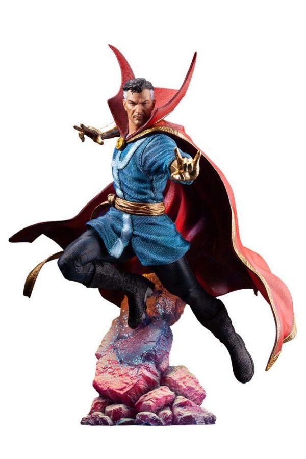 DOCTOR STRANGE STATUETTE ARTFX PREMIER 1-10 MARVEL UNIVERSE KOTOBUKIYA 25 CM (1) 4934054010714 kingdom-figurine.fr