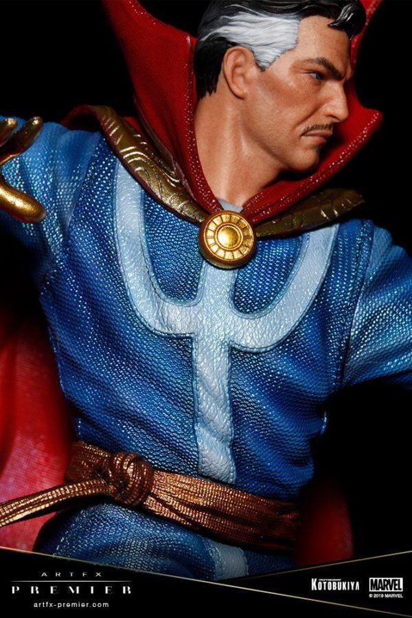 DOCTOR STRANGE STATUETTE ARTFX PREMIER 1-10 MARVEL UNIVERSE KOTOBUKIYA 25 CM (12) 4934054010714 kingdom-figurine.fr