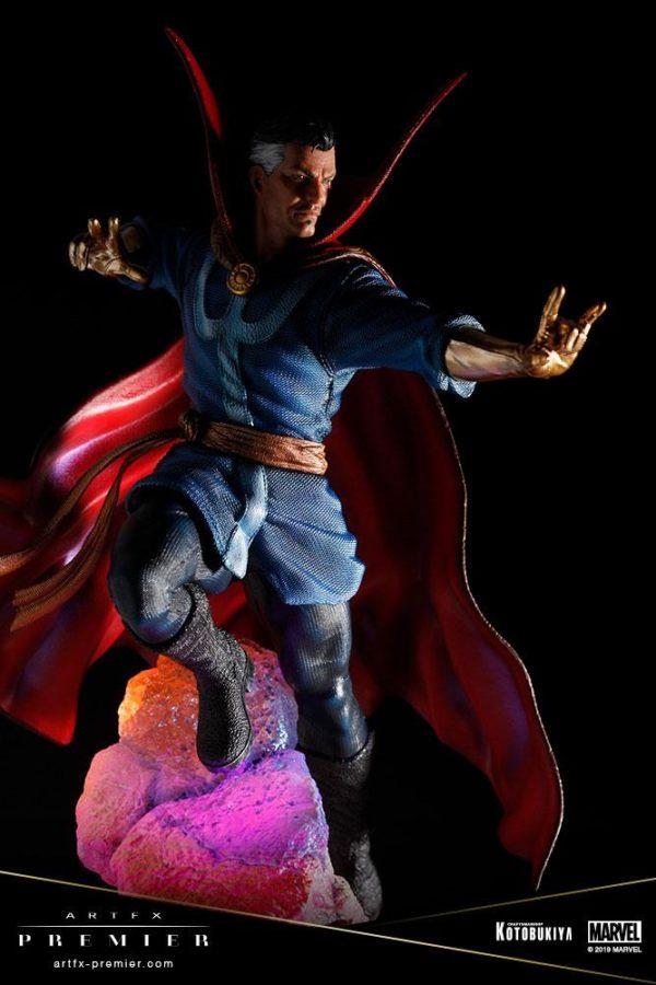 DOCTOR STRANGE STATUETTE ARTFX PREMIER 1-10 MARVEL UNIVERSE KOTOBUKIYA 25 CM (14) 4934054010714 kingdom-figurine.fr