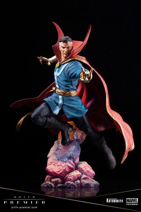 DOCTOR STRANGE STATUETTE ARTFX PREMIER 1-10 MARVEL UNIVERSE KOTOBUKIYA 25 CM (2) 4934054010714 kingdom-figurine.fr