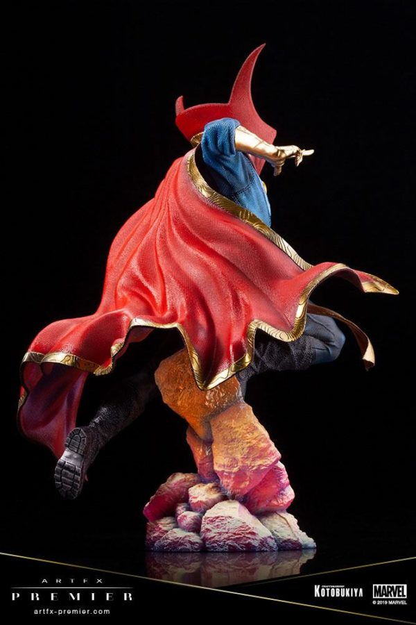 DOCTOR STRANGE STATUETTE ARTFX PREMIER 1-10 MARVEL UNIVERSE KOTOBUKIYA 25 CM (7) 4934054010714 kingdom-figurine.fr