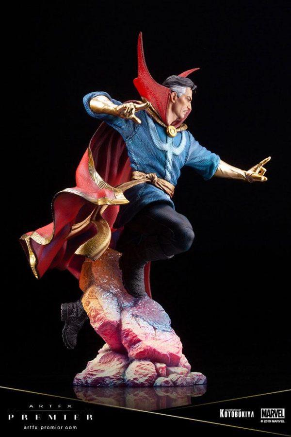 DOCTOR STRANGE STATUETTE ARTFX PREMIER 1-10 MARVEL UNIVERSE KOTOBUKIYA 25 CM (8) 4934054010714 kingdom-figurine.fr