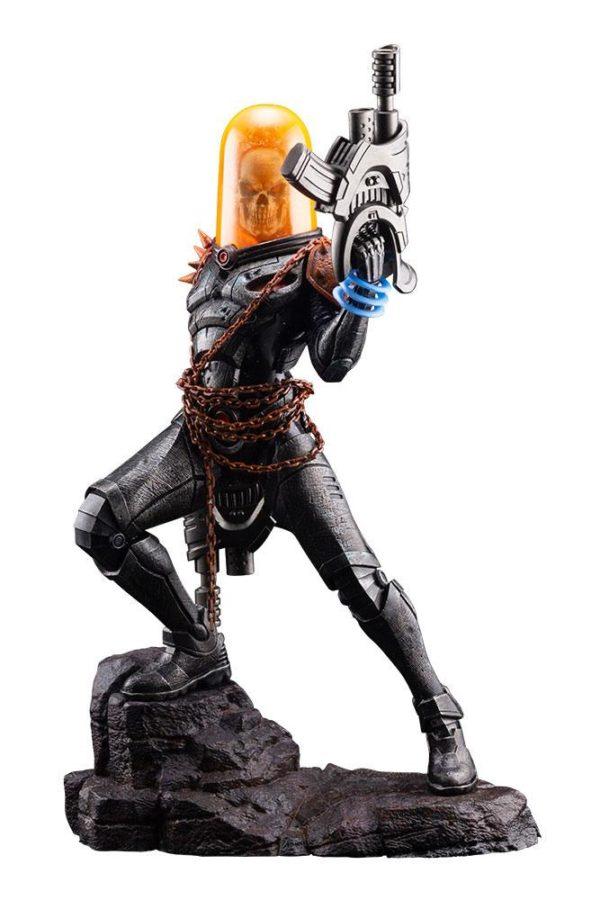 GHOST RIDER STATUETTE ARTFX PREMIER 1-10 MARVEL UNIVERSE KOTOBUKIYA 22 CM (1) 4934054010554 kingdom-figurine.fr