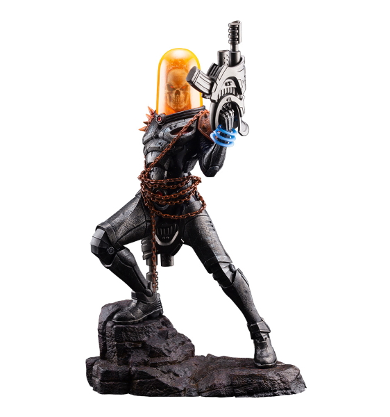 GHOST RIDER STATUETTE ARTFX PREMIER 1-10 MARVEL UNIVERSE KOTOBUKIYA 22 CM 4934054010554 kingdom-figurine.fr