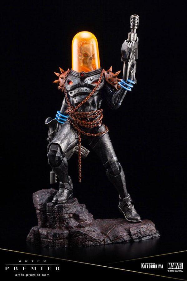 GHOST RIDER STATUETTE ARTFX PREMIER 1-10 MARVEL UNIVERSE KOTOBUKIYA 22 CM (5) 4934054010554 kingdom-figurine.fr