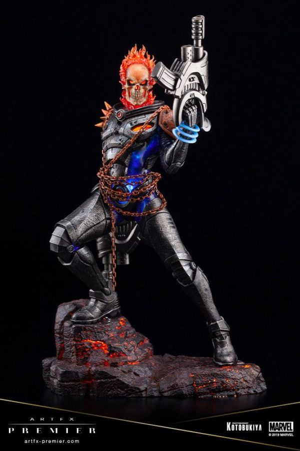 GHOST RIDER STATUETTE ARTFX PREMIER 1-10 MARVEL UNIVERSE KOTOBUKIYA 22 CM (9) 4934054010554 kingdom-figurine.fr