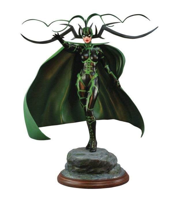 HELA STATUETTE MARVEL COMIC PREMIER COLLECTION DIAMOND SELECT 30 CM 699788831496 kingdom-figurine.fr