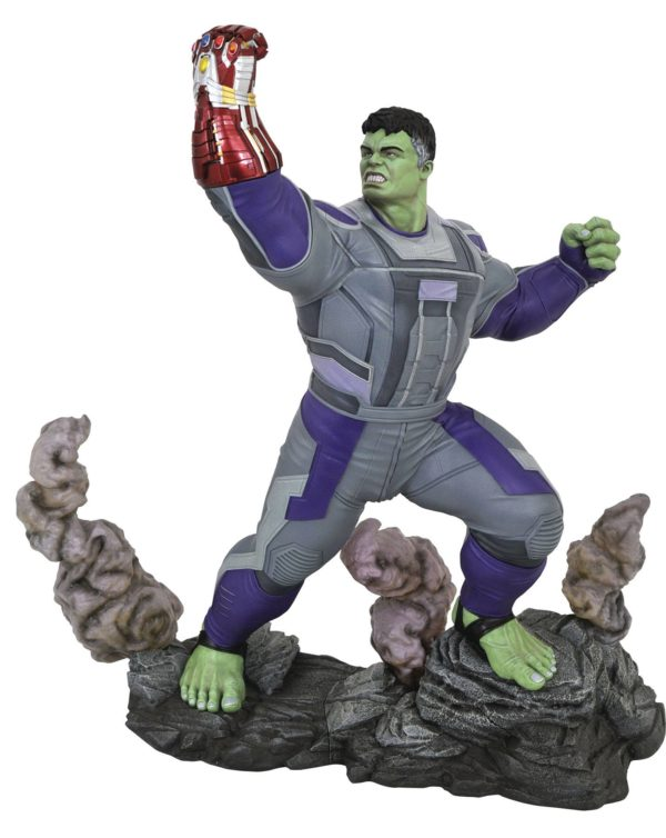 HULK STATUETTE AVENGERS ENDGAME MARVEL MOVIES MILESTONES DIAMOND SELECT TOYS 41 CM 699788832936 kingdom-figurine.fr
