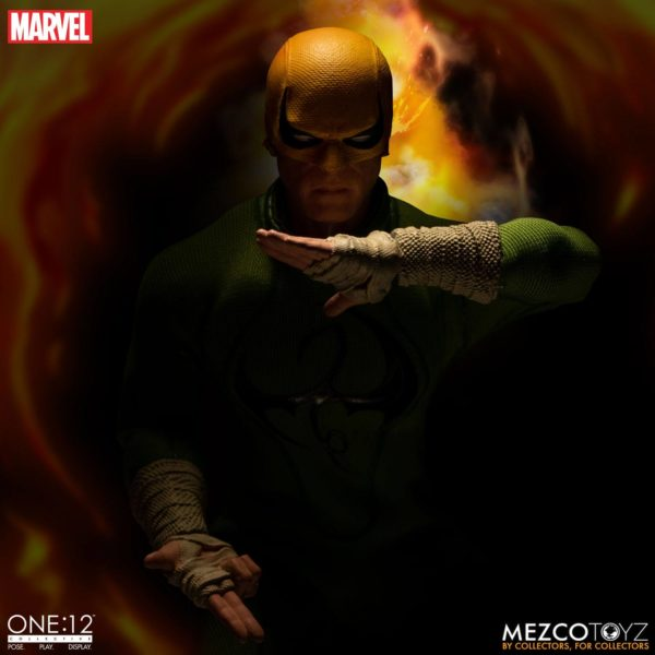 IRON FIST FIGURINE MARVEL ONE 12 MEZCO TOYS 17 CM (10) 696198775006 kingdom-figurine.fr.