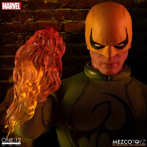 IRON FIST FIGURINE MARVEL ONE 12 MEZCO TOYS 17 CM (12) 696198775006 kingdom-figurine.fr.