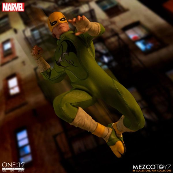 IRON FIST FIGURINE MARVEL ONE 12 MEZCO TOYS 17 CM (14) 696198775006 kingdom-figurine.fr.