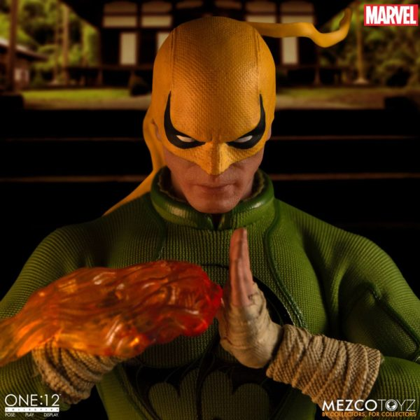 IRON FIST FIGURINE MARVEL ONE 12 MEZCO TOYS 17 CM (16) 696198775006 kingdom-figurine.fr.