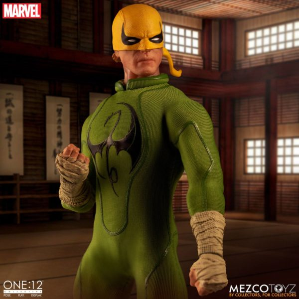 IRON FIST FIGURINE MARVEL ONE 12 MEZCO TOYS 17 CM (2) 696198775006 kingdom-figurine.fr.