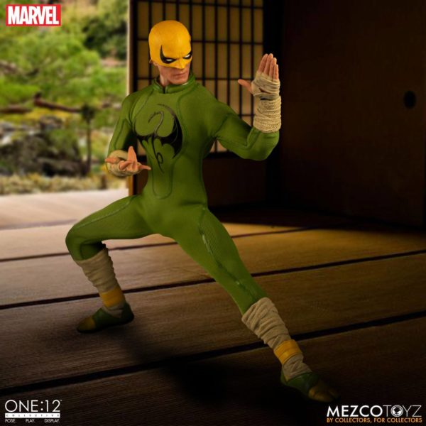 IRON FIST FIGURINE MARVEL ONE 12 MEZCO TOYS 17 CM (3) 696198775006 kingdom-figurine.fr.