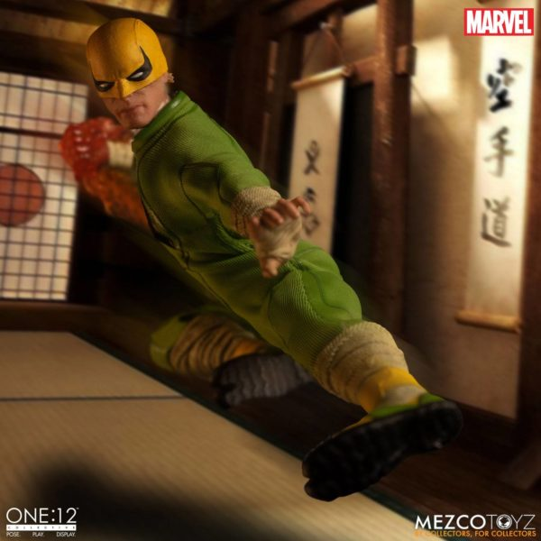 IRON FIST FIGURINE MARVEL ONE 12 MEZCO TOYS 17 CM (4) 696198775006 kingdom-figurine.fr.