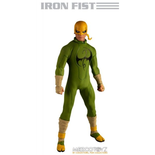 IRON FIST FIGURINE MARVEL ONE 12 MEZCO TOYS 17 CM 696198775006 kingdom-figurine.fr.