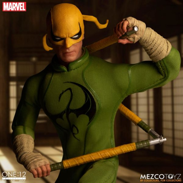IRON FIST FIGURINE MARVEL ONE 12 MEZCO TOYS 17 CM (8) 696198775006 kingdom-figurine.fr.
