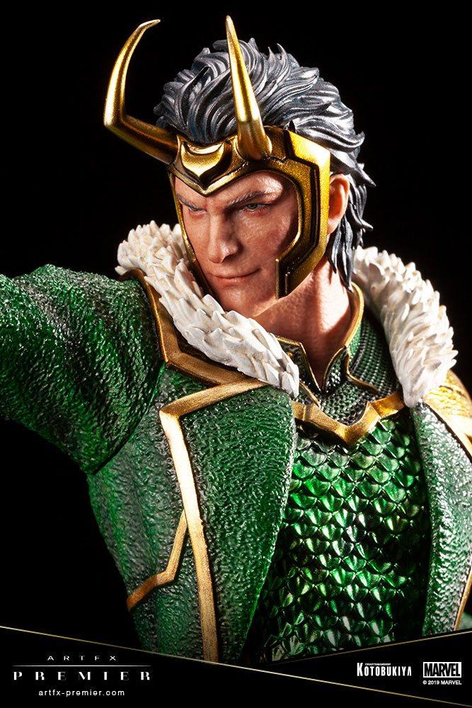 Le visage de Loki