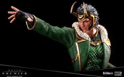 Une statue de Loki par Kotobukiya