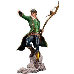LOKI STATUETTE ARTFX PREMIER 1-10 MARVEL UNIVERSE KOTOBUKIYA 28 CM 4934054013081 kingdom-figurine.fr