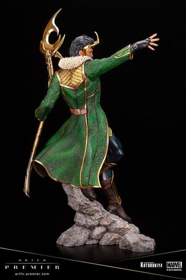 LOKI STATUETTE ARTFX PREMIER 1-10 MARVEL UNIVERSE KOTOBUKIYA 28 CM (5) 4934054013081 kingdom-figurine.fr