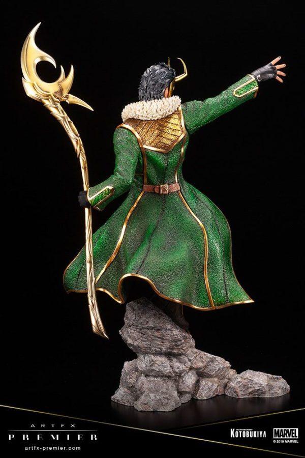 LOKI STATUETTE ARTFX PREMIER 1-10 MARVEL UNIVERSE KOTOBUKIYA 28 CM (6) 4934054013081 kingdom-figurine.fr