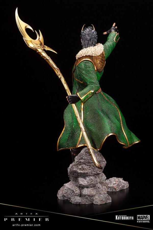 LOKI STATUETTE ARTFX PREMIER 1-10 MARVEL UNIVERSE KOTOBUKIYA 28 CM (7) 4934054013081 kingdom-figurine.fr